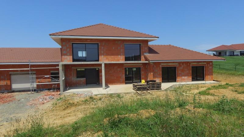Maison en construction à Orthez