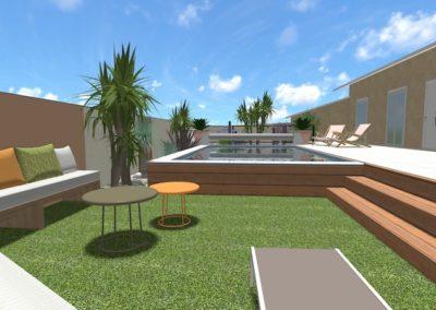 Relooking total d'un jardin sur Agde
