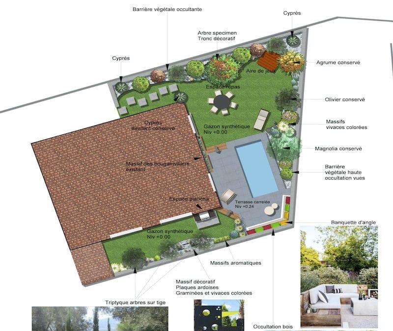 Rénovation Jardin et Espace Piscine Béziers