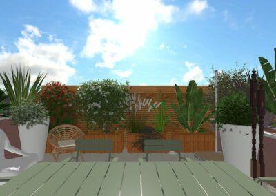 Rénovation d'un balcon terrasse à Lattes