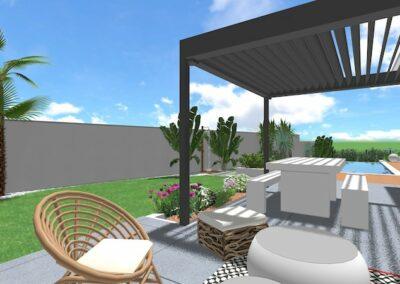 Création Espace Extérieur Maison à Bessan