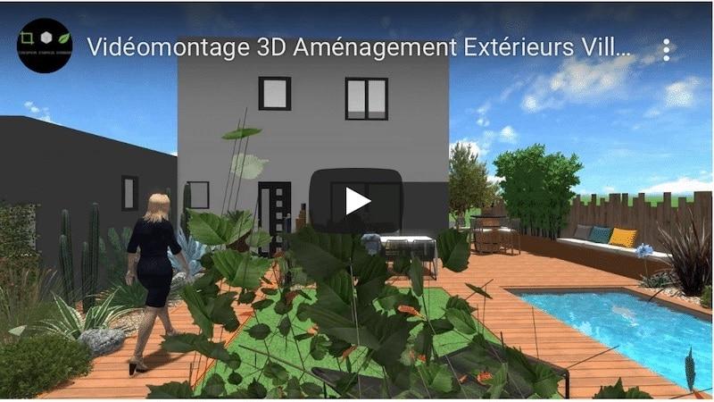 simulation video 3d projet